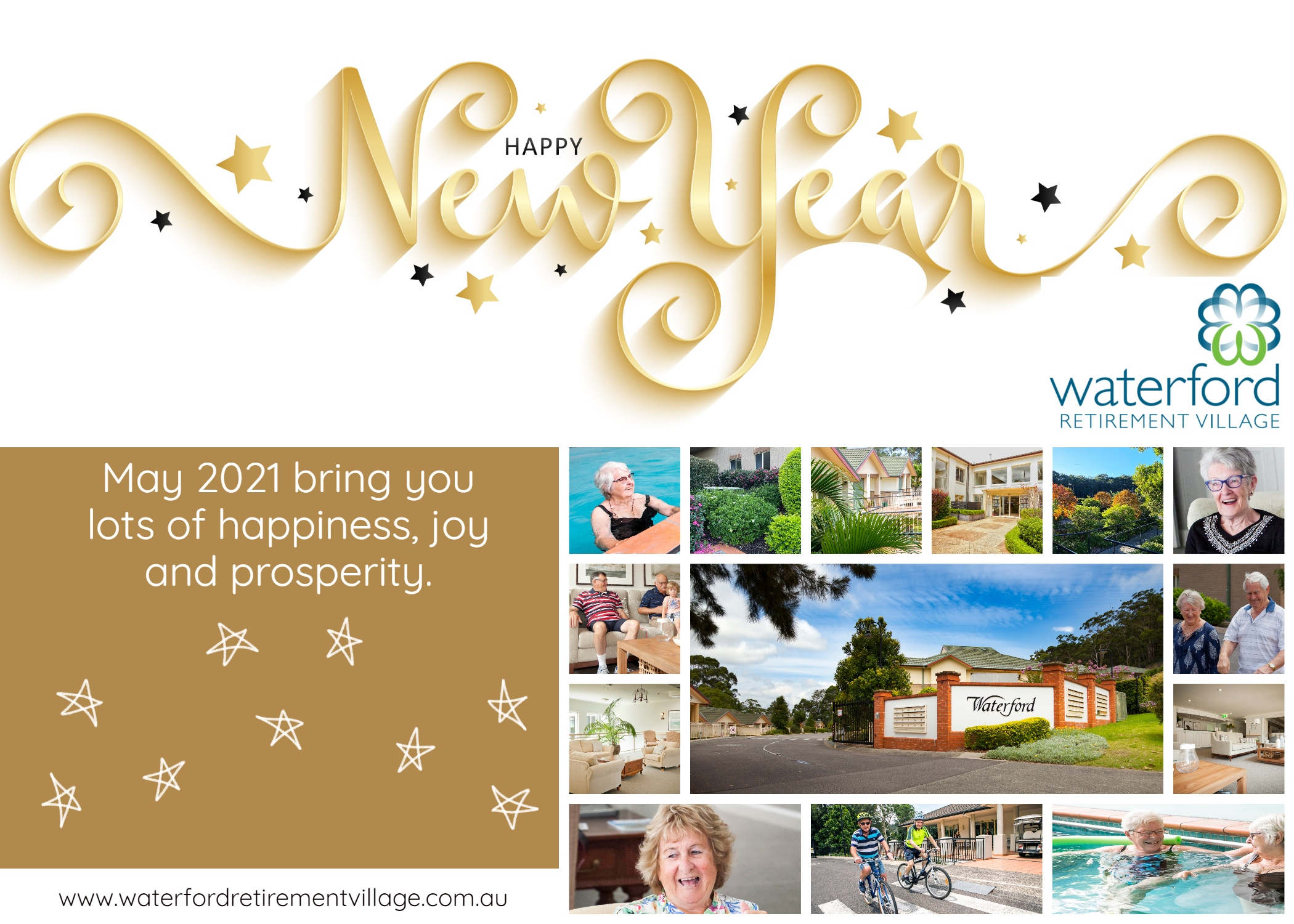 Happy New Year from Waterford Retirement Village